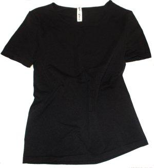 WOLFORD Lagerfeld Shirt schwarz kurzarm Gr. 38/40