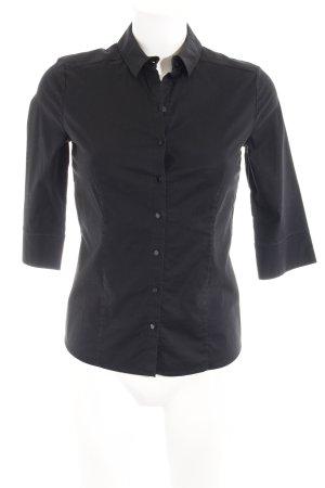 Wolford Langarmhemd schwarz klassischer Stil