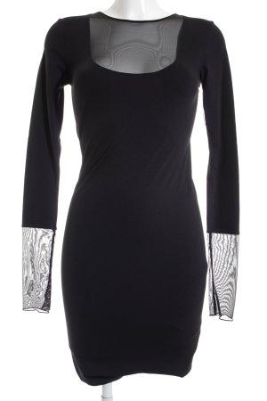 Wolford Langarmkleid schwarz Elegant