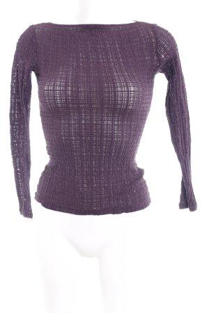 Wolford Longsleeve violett Casual-Look