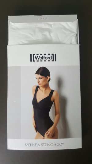Wolford Blusa tipo body blanco