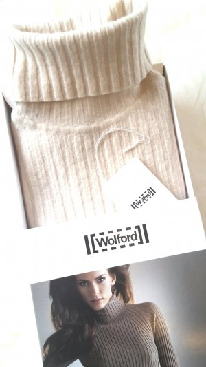 Wolford Pull à manches courtes multicolore laine