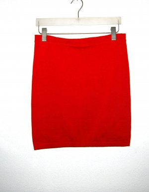 Wolford Jupe tricotée rouge foncé laine