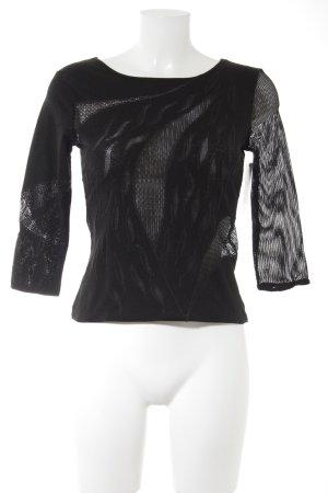 Wolford Netzshirt schwarz Elegant