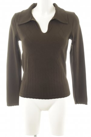 Wolford Polo-Shirt grüngrau Casual-Look