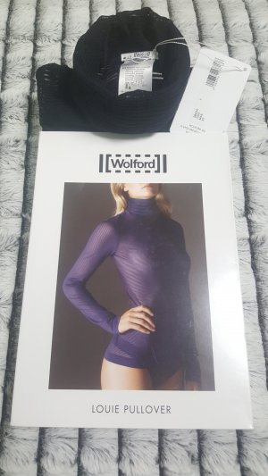 WOLFORD Pullover LOUIE , XS, black, NEU&OVP 185,00