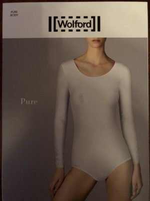 Wolford Pure Body Stringbody Langarm-Große-L
