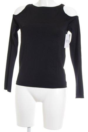 Wolford Rippshirt schwarz Street-Fashion-Look