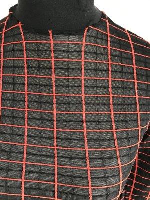 Wolford Rolli transparent schwarz rot dG S wie Neu