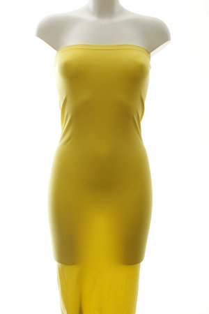 Wolford Tube Dress yellow beach look