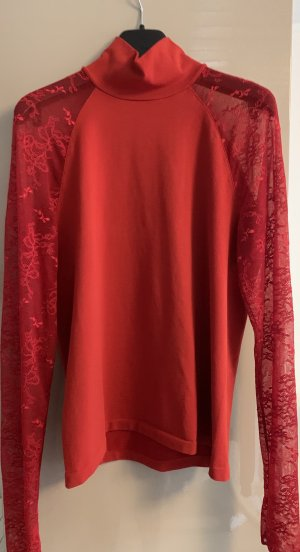 Wolford Lace Blouse red