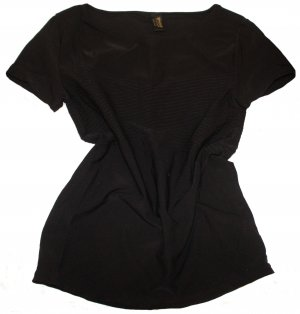 WOLFORD Shirt schwarz kurzarm Gr. 38/40