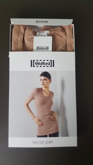 Wolford Shirt Top Basic gr. XS Neu nude