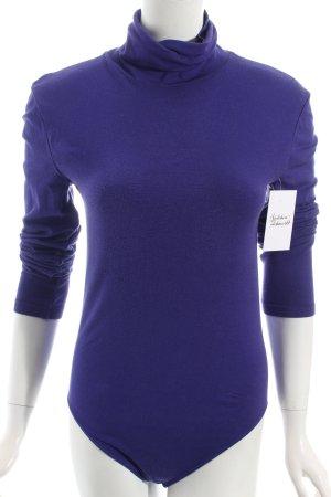 Wolford Shirtbody blauviolett-blau klassischer Stil