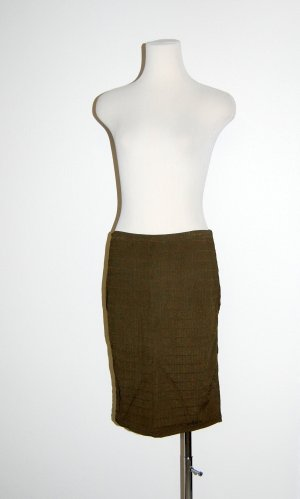 Wolford Stretchrock - Bleistiftrock Pencil Skirt olive Gr. M