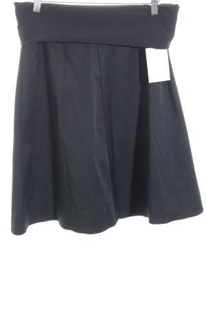 Wolford Falda stretch negro estilo sencillo