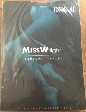 Wolford Strumpfhose Miss W Light Support Tights schwarz Gr. M OVP