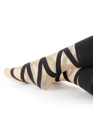 Wolford Stulpen schwarz extravaganter Stil