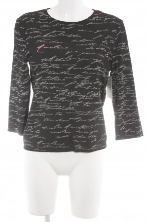 Wolford Sweatshirt Schriftzug gestickt Casual-Look