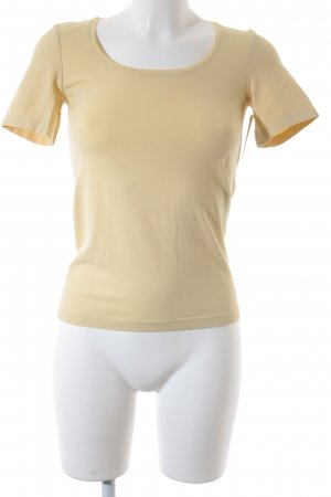 Wolford T-Shirt dunkelgelb Casual-Look