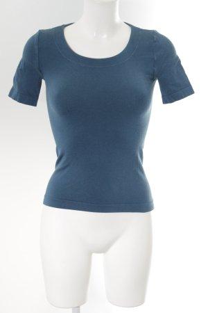Wolford T-Shirt petrol sportlicher Stil