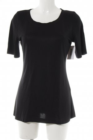 Wolford T-Shirt schwarz Casual-Look