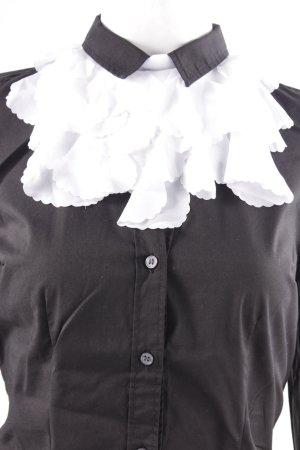 Wolford Blusenkragen weiß extravaganter Stil