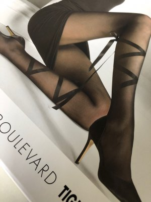 WOLFORD tights SUNSET BOULEVARD Medium schwarz  -neu-