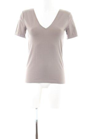 Wolford V-Ausschnitt-Shirt wollweiß Casual-Look