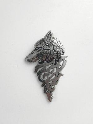 Wolfs Brosche Anstecknadel Neu