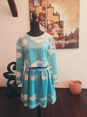 Robe Sweat bleu clair
