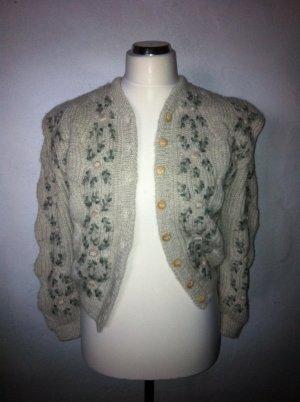 Veste en tricot multicolore laine vierge