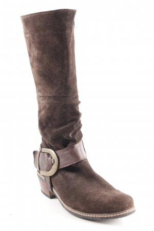 Wolky Western Boots dark brown country style