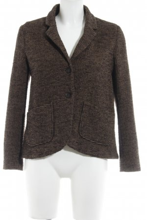Wool Blazer brown-black fancy buttons