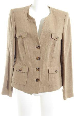 Wool Blazer light brown business style