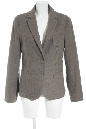 Woll-Blazer hellbraun-cognac Business-Look