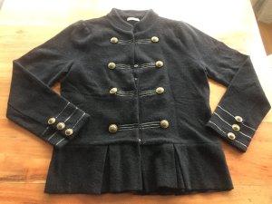Woll-Blazer im Military Look