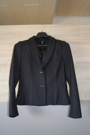 Woll-Blazer in anthrazit