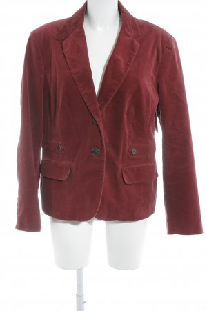 Wool Blazer carmine business style