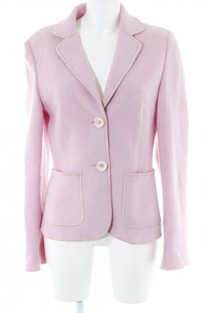 Woll-Blazer rosa Business-Look