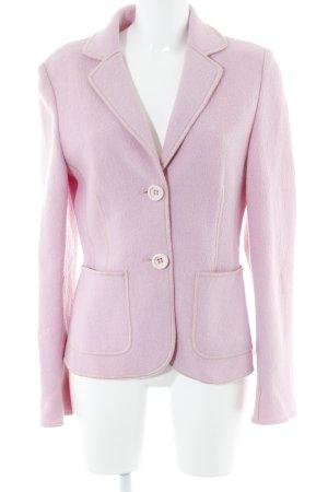 Wool Blazer pink business style