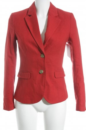 Wool Blazer red business style