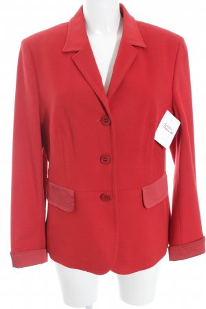 Woll-Blazer rot Business-Look