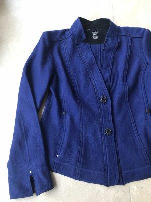 Marc Cain Blazer de lana azul