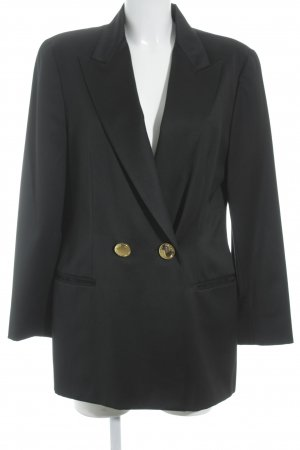 Woll-Blazer schwarz Business-Look