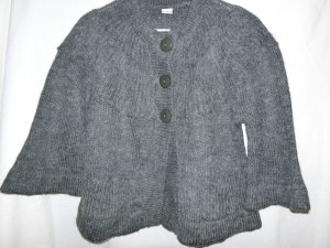3 Suisses Bolero grey wool
