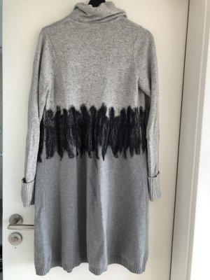 gotha Cappotto in lana nero-grigio