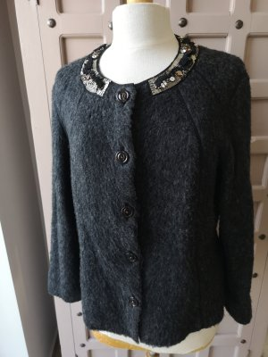 Marc Cain Knitted Blazer anthracite