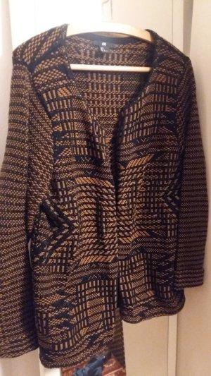 Woll-Cardigan mit grafischem Muster