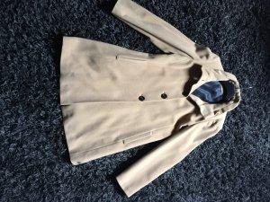 Cappotto in lana color cammello Cachemire